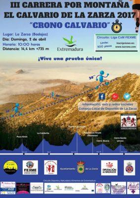 """Carrera por Montaña """"El Calvario de La Zarza"""""""
