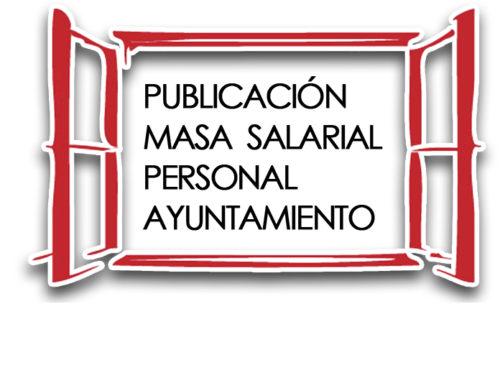 PUBLICACIÓN MASA SALARIAL PERSONAL