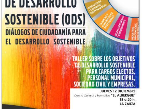 TALLER SOBRE LOS OBJETIVOS DE DESARROLLO SOSTENIBLE