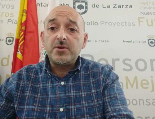 MENSAJE DEL ALCALDE DE LA ZARZA-29 DE MARZO DE 2020