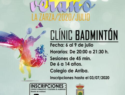 CLÍNIC DE BÁDMINTON