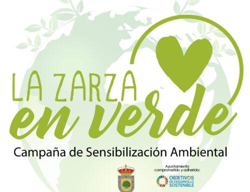 """""""LA ZARZA en verde"""", NUEVA CAMPAÑA DE CONCIENCIACIÓN MEDIOAMBIENTAL"""