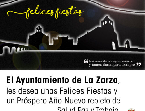 MENSAJE NAVIDEÑO DEL ALCALDE DE LA ZARZA