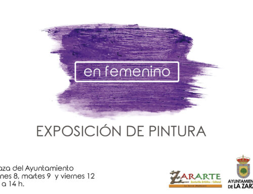 """EXPOSICIÓN DE PINTURA """"EN FEMENINO"""""""