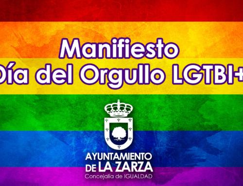 Manifiesto Día del Orgullo LGTBI+